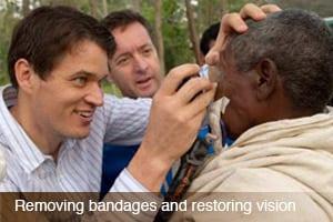 Medical Eye Center provider working in Ethiopia