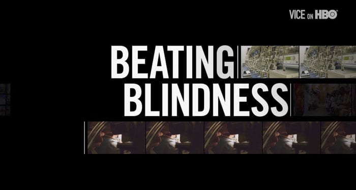 VICE Beating Blindness cover