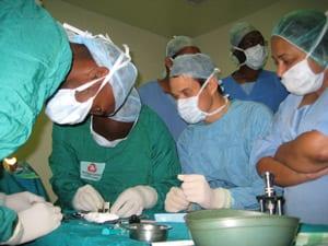 Medical Eye Center doctors volunteering in Kenya