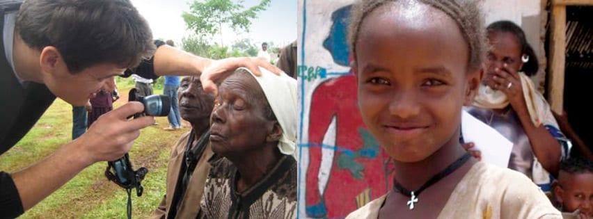 Medical Eye Center provider volunteering in Kenya
