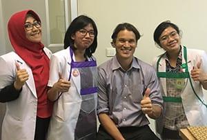 Medical Eye Center doctor volunteering in Myanmar