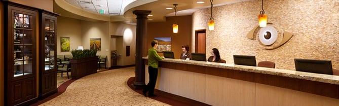 Medical Eye Center payment counter