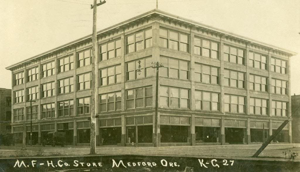 Early 1900s Medical Eye Center Location