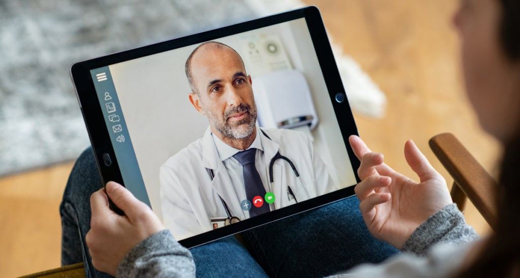 Doctor video consultation