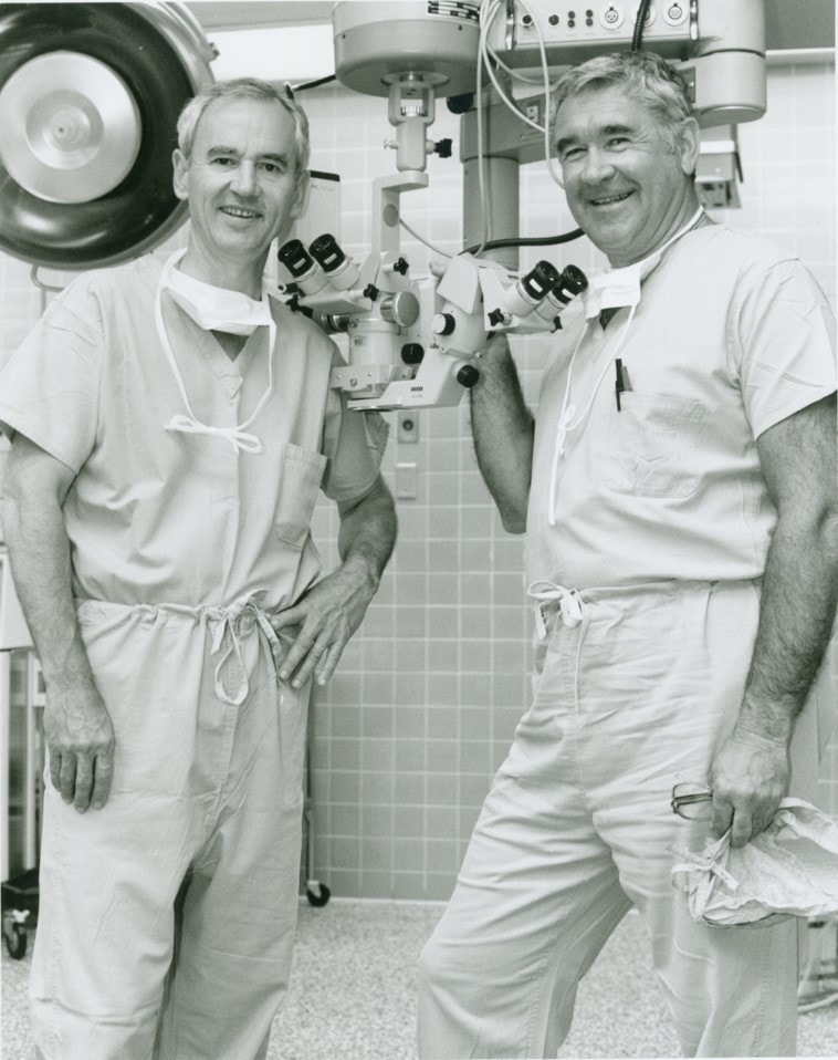 Dr. Weisel and Dr. Retzlaff