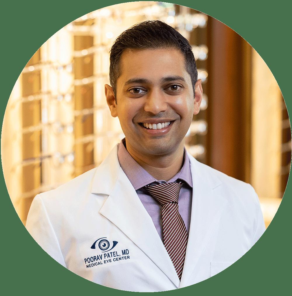 Poorav Patel, MD: Medical Eye Center provider