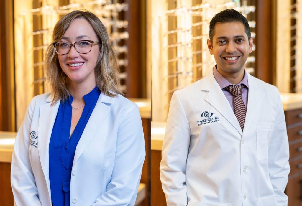 Dr. Lacey Echalier, Dr. Poorav Patel